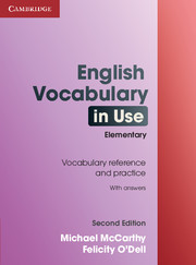 ENGLISH VOCABULARY IN USE 2ND EDITION ELEMENTARY WITH ANSWERS