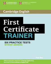 FIRST CERTIFICATE TRAINER WITHOUT ANSWERS