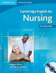 CAMBRIDGE ENGLISH FOR NURSING PRE-INTERMEDIATE + AUDIO CDS (2)