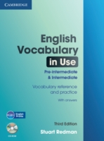 ENGLISH VOCABULARY IN USE 3RD EDITION PRE-INTERMEDIATE & INTERMEDIATE WITH ANSWERS + CD-ROM