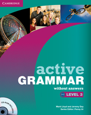 ACTIVE GRAMMAR 3 WITHOUT ANSWERS + CD-ROM