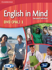 ENGLISH IN MIND 1 (2ND EDITION) DVD (PAL)