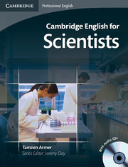 CAMBRIDGE ENGLISH FOR SCIENTISTS + CD