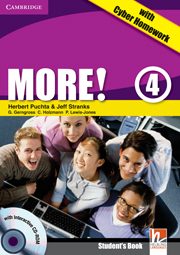MORE! 4 STUDENT'S BOOK + CD-ROM + CYBER HOMEWORK