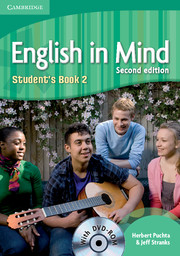 ENGLISH IN MIND 2 (2ND EDITION) STUDENT'S BOOK + DVD-ROM