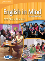 ENGLISH IN MIND 2ND EDITION STARTER DVD (PAL)