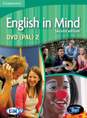 ENGLISH IN MIND 2 (2ND EDITION) DVD (PAL)