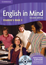 ENGLISH IN MIND 3 (2ND EDITION)  STUDENT'S BOOK + DVD-ROM