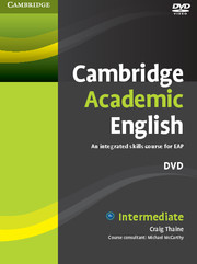CAMBRIDGE ACADEMIC ENGLISH B1+ INTERMEDIATE - DVD