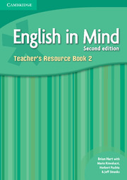 ENGLISH IN MIND 2 (2ND EDITION) TEACHER'S BOOK