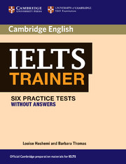 IELTS TRAINER WITHOUT ANSWERS