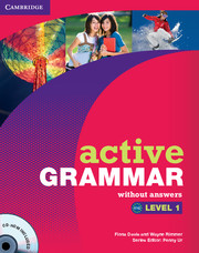 ACTIVE GRAMMAR 1 WITHOUT ANSWERS + CD-ROM