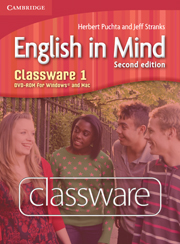 ENGLISH IN MIND 1 (2ND EDITION) CLASSWARE DVD-ROM