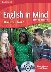 ENGLISH IN MIND 1 (2ND EDITION) STUDENT'S BOOK + DVD-ROM