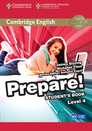 CAMBRIDGE ENGLISH PREPARE! 4 STUDENT'S BOOK