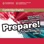 CAMBRIDGE ENGLISH PREPARE! 4 CLASS AUDIO CDS (2)