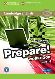 CAMBRIDGE ENGLISH PREPARE! 6 WORKBOOK WITH AUDIO