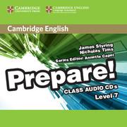 CAMBRIDGE ENGLISH PREPARE! 7 CLASS AUDIO CDS (2)