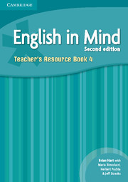 ENGLISH IN MIND 4 (2ND EDITION) TEACHER'S BOOK
