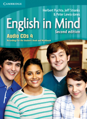 ENGLISH IN MIND 4 (2ND EDITION) CDS (4)