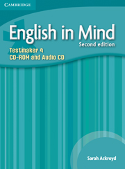 ENGLISH IN MIND 4 (2ND EDITION) TESTMAKER CD-ROM & AUDIO CD