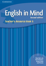 ENGLISH IN MIND 5 (2ND EDITION) TEACHER'S BOOK