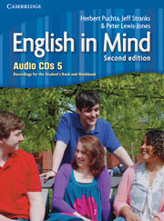 ENGLISH IN MIND 5 (2ND EDITION) AUDIO CDS (4)