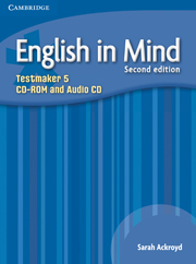 ENGLISH IN MIND 5 (2ND EDITION) TESTMAKER CD-ROM & AUDIO CD
