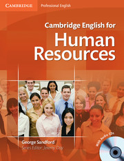 CAMBRIDGE ENGLISH FOR HUMAN RESOURCES + AUDIO CDS