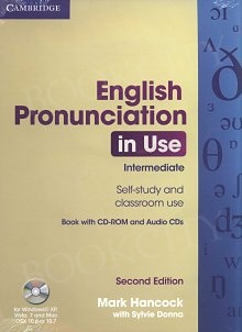 ENGLISH PRONUNCIATION IN USE INTERMEDIATE 2ND EDITION WITH ANSWERS & CD / CD-ROM