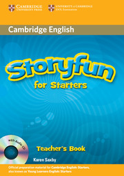 STORYFUN FOR STARTERS TEACHER'S BOOK & CDS (2)