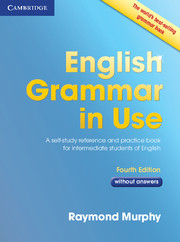 ENGLISH GRAMMAR IN USE 4TH EDITION WITHOUT ANSWERS