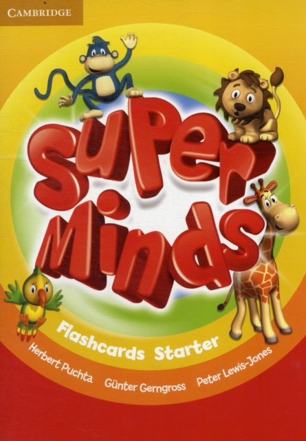 SUPER MINDS STARTER FLASHCARDS (PACK OF 78)