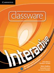 INTERACTIVE 3 CLASSWARE DVD-ROM