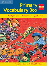 PRIMARY VOCABULARY BOX (PHOTOCOPIABLE)