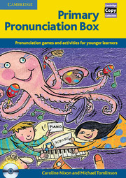 PRIMARY PRONUNCIATION BOX + CD (PHOTOCOPIABLE)