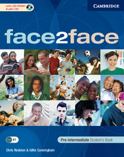 FACE2FACE  PRE-INTERMEDIATE STUDENT'S BOOK & CD-ROM/CD
