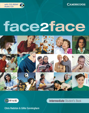 FACE2FACE  INTERMEDIATE STUDENT'S BOOK + CD-ROM/AUDIO CD
