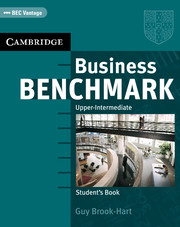 BUSINESS BENCHMARK UPPER-INTERMEDIATE STUDENT'S BOOK (BEC VANTAGE)