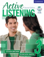 ACTIVE LISTENING SECOND EDITION (US) : NIVEAU 3 - LIVRE DE L'ELEVE + CD