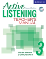 ACTIVE LISTENING SECOND EDITION (US) : NIVEAU 3 - LIVRE DU PROFESSEUR + CD
