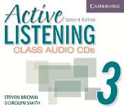 ACTIVE LISTENING SECOND EDITION (US) : NIVEAU 3 - CD DE LA CLASSE (3)