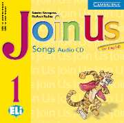 JOIN US FOR ENGLISH 1 AUDIO CD (SONGS)