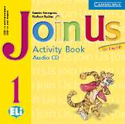 JOIN US FOR ENGLISH 1 AUDIO CD (ACTIVITY BOOK)