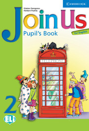 JOIN US FOR ENGLISH 2 PUPIL'S BOOK