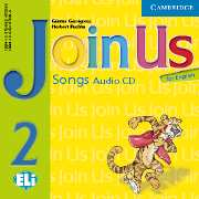 JOIN US FOR ENGLISH 2 AUDIO CD (SONGS)