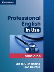 PROFESSIONAL ENGLISH IN USE: MEDICINE