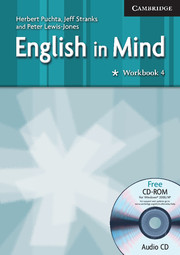 ENGLISH IN MIND 4 WORKBOOK + CD/CD-ROM