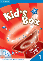 KID'S BOX 1 TEACHER'S RESOURCE PACK WITH AUDIO CD