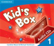 KID'S BOX 1 AUDIO CDS (3)